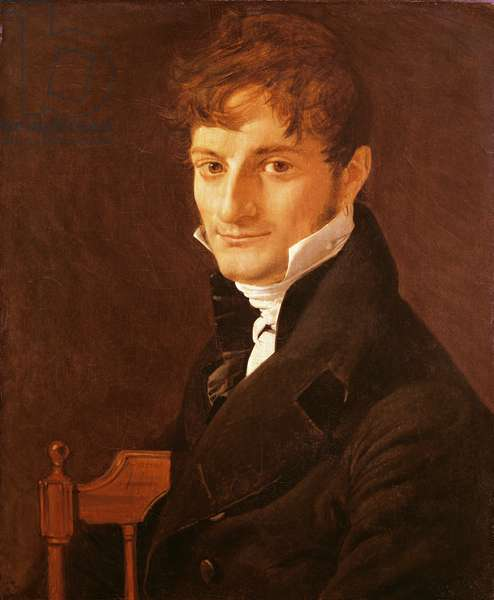 Portrait of Belvèze-Foulon, friend of the artist, 1805 (oil on canvas)
