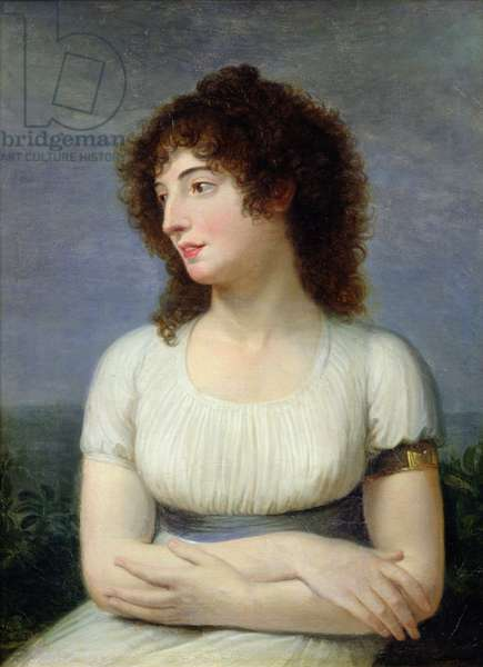 Laure de Guesnon de Bonneuil, Countess Regnaud de Saint-Jean d'Angely (oil on canvas)