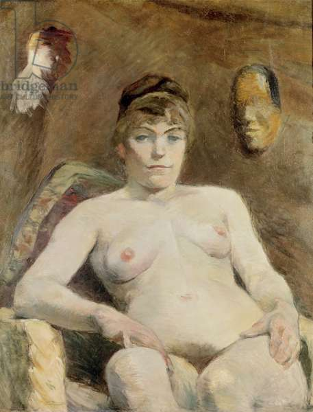 Nude Woman, 1884 (oil on canvas)