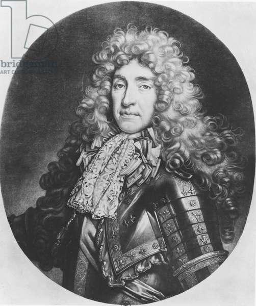 James II of England (litho)