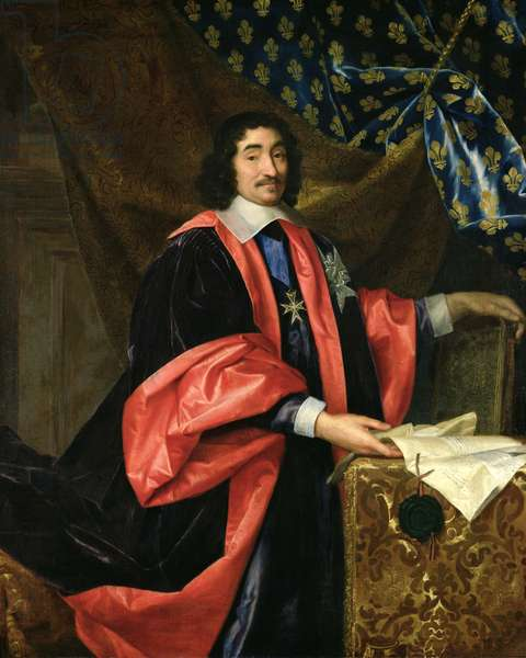 Pierre Seguier (1588-1672) Chancellor of France, c.1668 (oil on canvas)