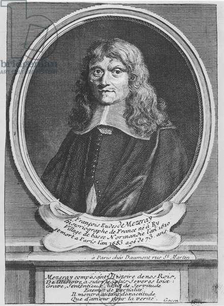 François Eudes de Mézeray (engraving)