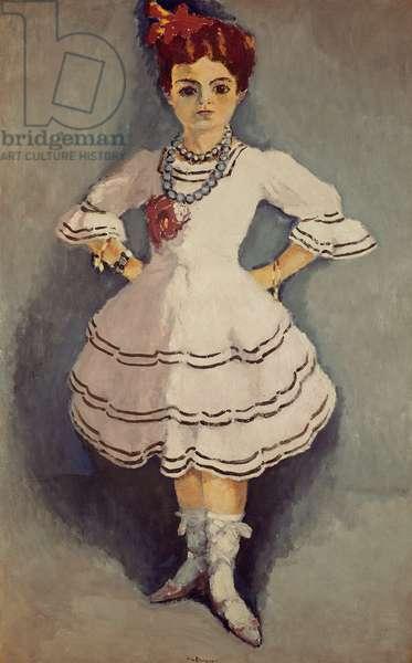 Spanish Dancer, c.1912 (oil on canvas)
