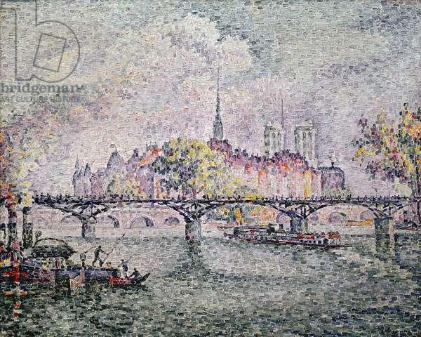 Ile de la Cite, Paris, 1912 (oil on canvas)