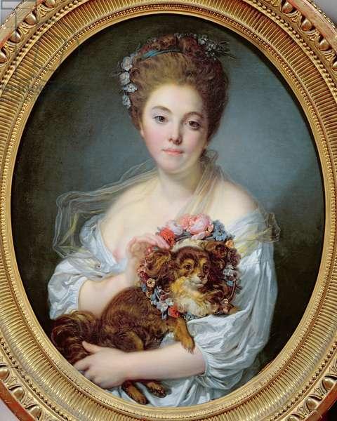 Madame de Porcin, 1774 (oil on canvas)