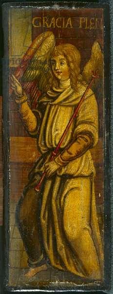 Portrait of an Angel (oil on panel)