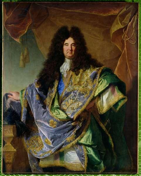 Portrait of Philippe de Courcillon (1638-1720) Marquis de Dangeau, 1702 (oil on canvas)