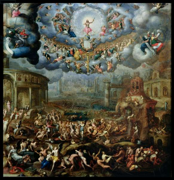 The Last Judgement (oil on canvas)