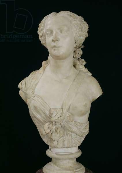 Bust of Madame Sabatier, 1847 (marble)