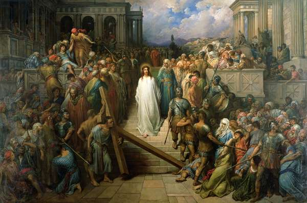 Christ Leaves his Trial, 1874-80 (oil on canvas)