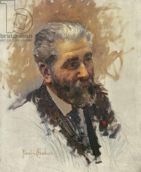 Jose Maria de Heredia (1842-1905) 1895 (oil on canvas)