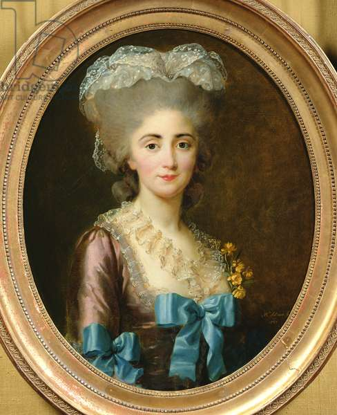 Portrait of Madame Lesould, 1780 (oil on canvas)