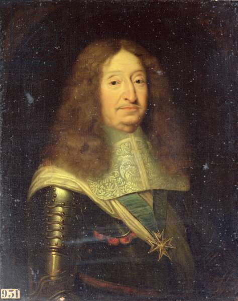 Cesar de Bourbon (1595-1665) Duke of Vendome and Beaufort (oil on canvas)