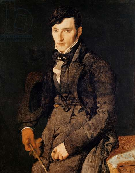 Portrait of Jean-Pierre-Francois Gilibert (1783-1850) 1804-05 (oil on canvas)