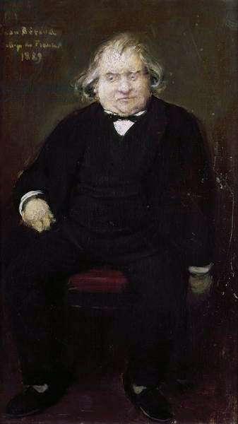 Ernest Renan (1823-92) 1889 (oil on canvas)