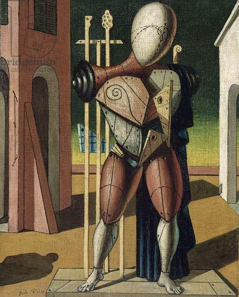 Trovatore (oil on canvas)