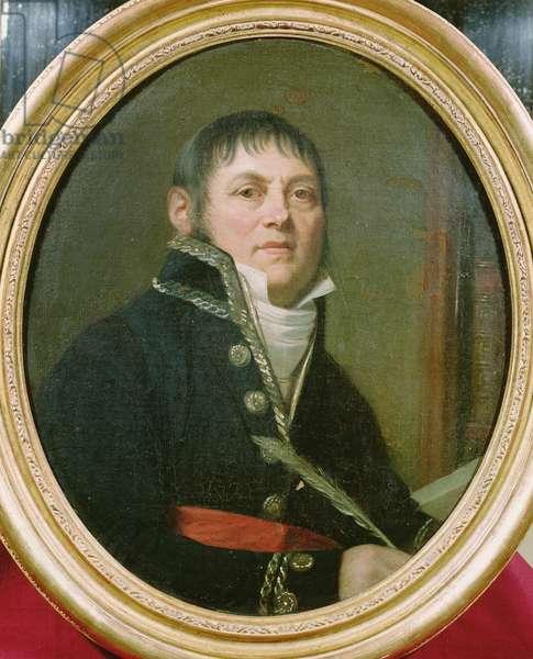 Bernard-Francois Balzac (1746-1829) 1797 (oil on canvas)