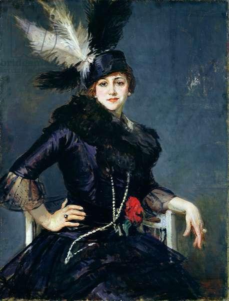 Gilda Darthy (oil on canvas)