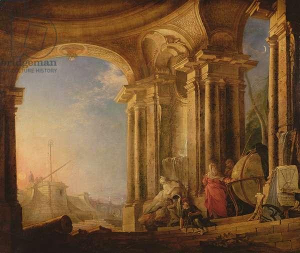 Astronomy (oil on canvas)