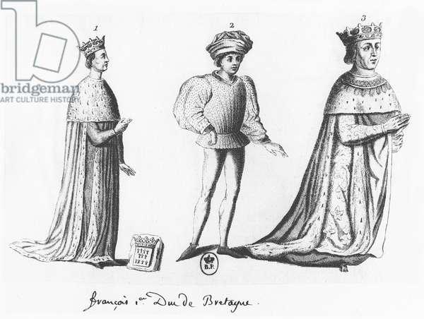 Francis I, Duke of Brittany (engraving)