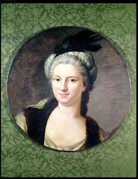 Pauline-Felicite de Nesle (1712-41) Countess of Vintimille (oil on canvas)