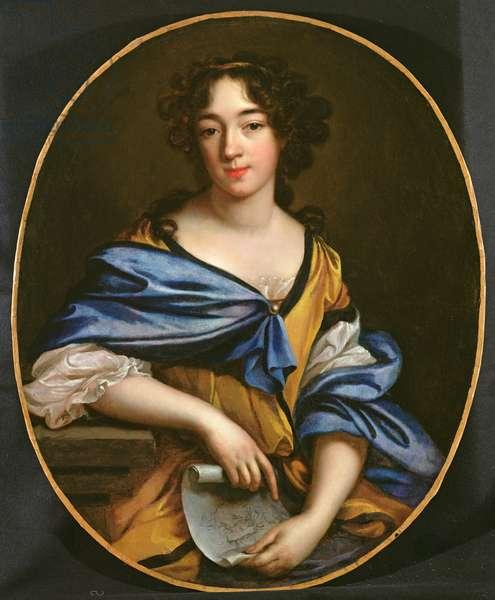 Self Portrait, 1672 (oil on canvas)