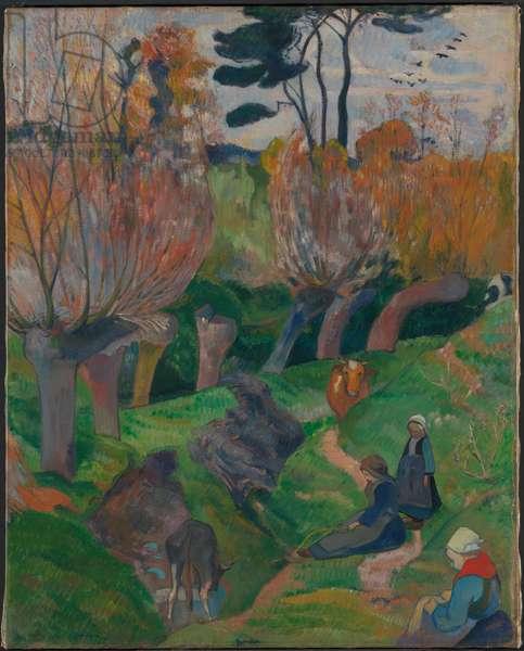 Breton Landscape, 1889 (oil on canvas)