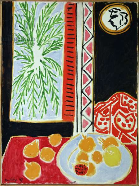 Still Life with Pomegranates, 1947 (oil on canvas)