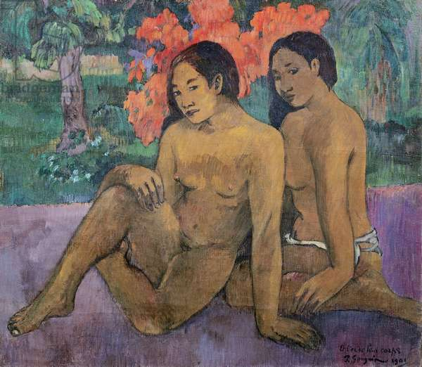 And the Gold of their Bodies, 1901 (oil on canvas)