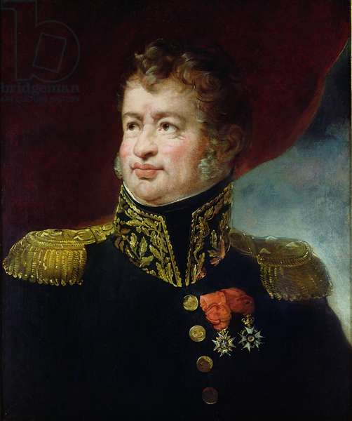 General Joseph-Leopold Sigisbert Hugo (1773-1828) (oil on canvas)