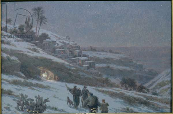 Christmas Night at Bethlehem, 1893 (oil on canvas)