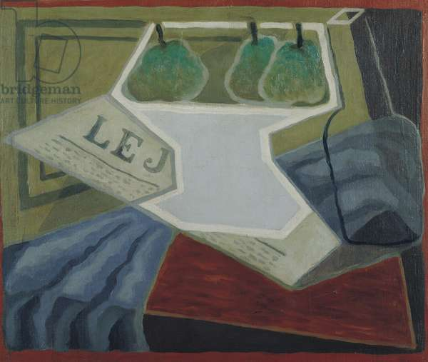The Fruit Bowl, 1925-27 (oil on canvas)