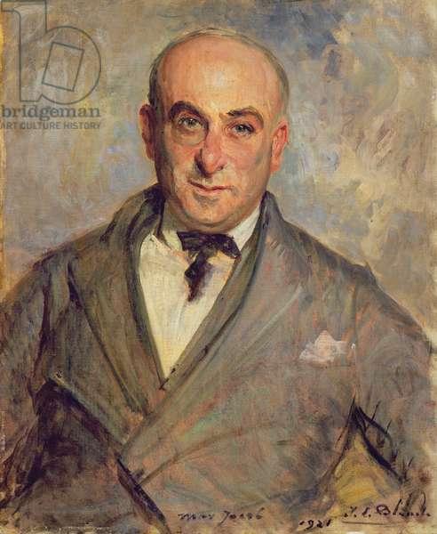 Portrait of Max Jacob (1876-1944) 1921 (oil on canvas)