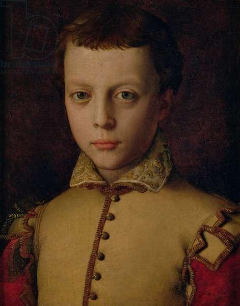 Portrait of Ferdinando de' Medici (1549-1609) (Ferdinand I, Grand Duke of Tuscany) (oil on panel)
