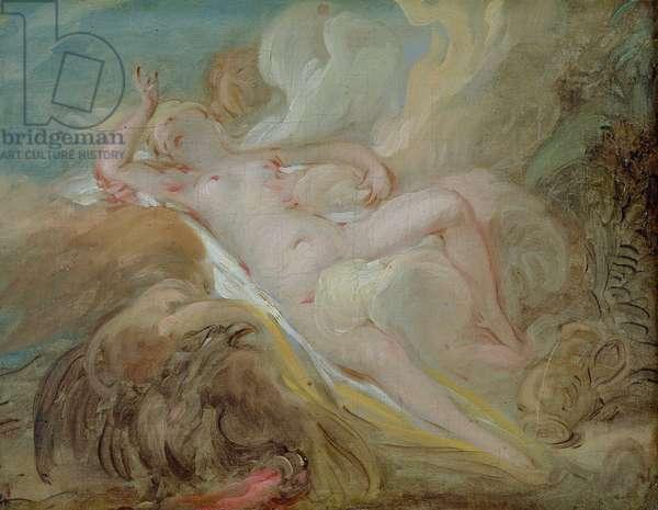 Jupiter and Io (oil on canvas)