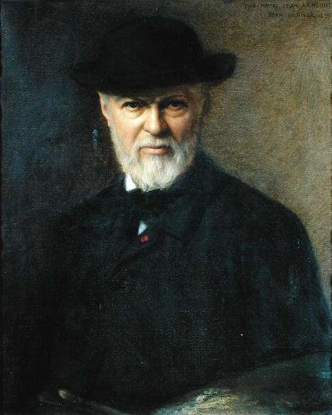 Portrait of Jean-Jacques Henner (1829-1905) 1899 (oil on canvas)