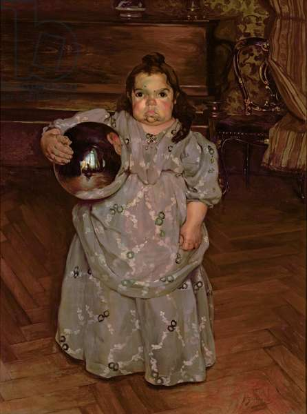 The Dwarf Dona Mercedes, 1899 (oil on canvas)