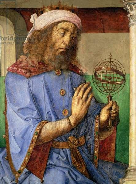 Portrait of Ptolemy, c.1475 (panel)