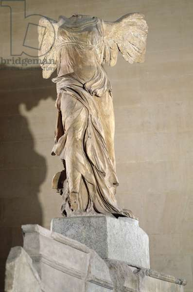 The Victory of Samothrace (Parian marble) (see also 92583 & 94601-03 & 154093)