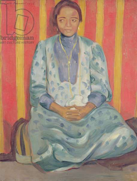 Study of a Mulatto Woman, 1895 (oil on canvas)