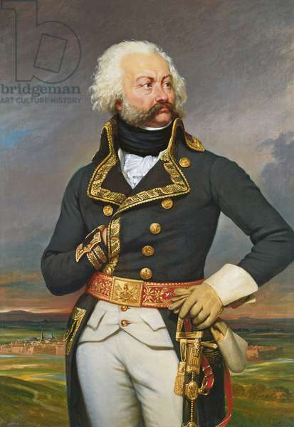 General Adam Philippe (1740-93) Count of Custine (oil on canvas)