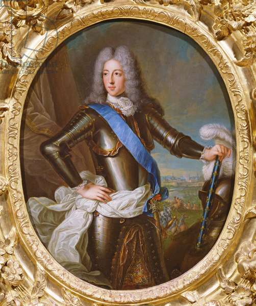 Portrait of Louis-Henri de Bourbon, Prince of Condé (oil on canvas)