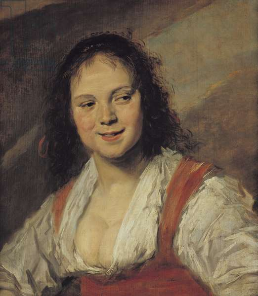 The Gypsy Girl, 1628 (oil on panel)