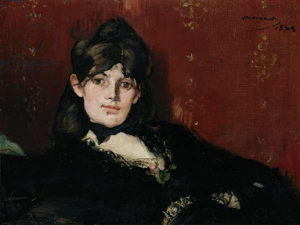 Berthe Morisot (1841-95) Reclining, 1873 (oil on canvas)