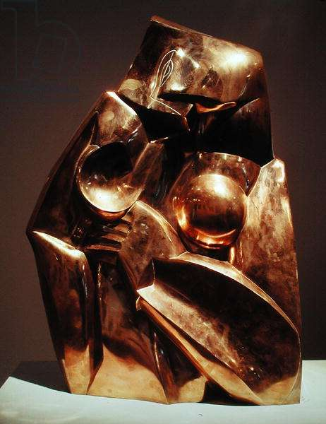 Form and Light, 1918 (bronze)
