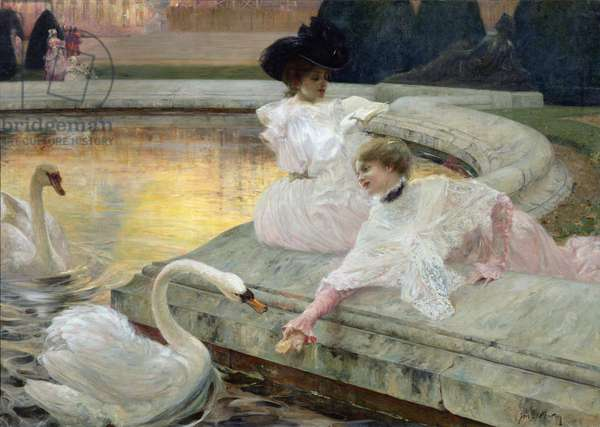 The Swans, 1900 (oil on canvas)