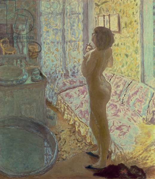 Nude in Backlighting, or The Eau de Cologne, 1908-09 (oil on canvas)