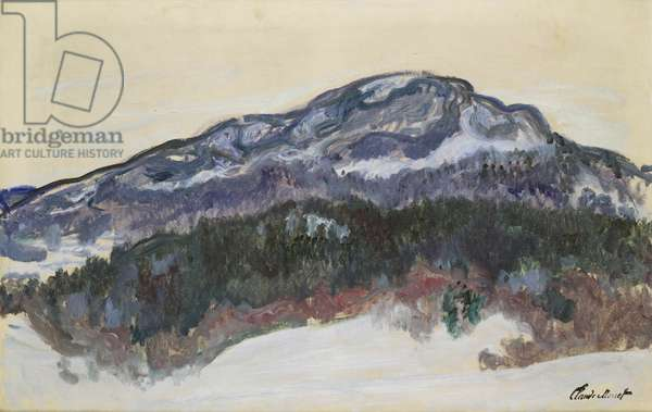 Mount Kolsaas, Norway, 1895 (oil on canvas)