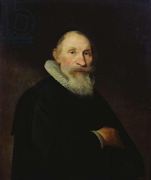 Portrait presumed to be Duke Georges-Guillaume de Brunswick Lunebourg (1624-1705) 1650 (oil on panel)