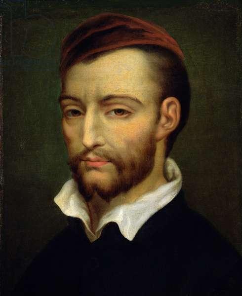 Portrait of Theodore Gericault (1791-1824) (oil on canvas)